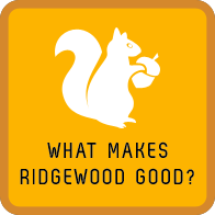 What makes Ridgewood Good Icon Hover